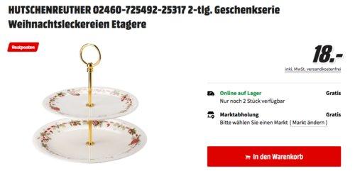 Rosenthal Hutschenreuther 02460-725492-25317 Weihnachtsleckereien Etagere, 2-tlg. - jetzt 64% billiger