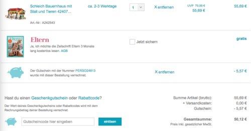 Schleich 42407 Bauernhaus mit Stall und Tieren - jetzt 10% billiger
