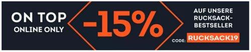 SportScheck.com - 15% Rabatt auf ausgewählte Rucksäcke: z.B. AEVOR Rucksack - Daypack Damen, flicker mint coral - jetzt 14% billiger