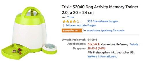 Trixie 32040 Dog Activity Memory Trainer 2.0 - Intelligenztrainer für den Hund - jetzt 19% billiger