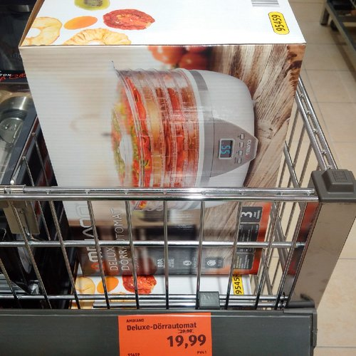 AMBIANO Deluxe Dörrautomat - jetzt 33% billiger