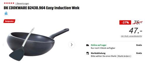 BK COOKWARE B2438.964 Easy Induction Wok, ø 32 cm - jetzt 28% billiger