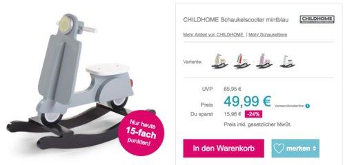 """Childhome Schaukelpferd """"Scooter"""", versch. Farben - jetzt 8% billiger"""