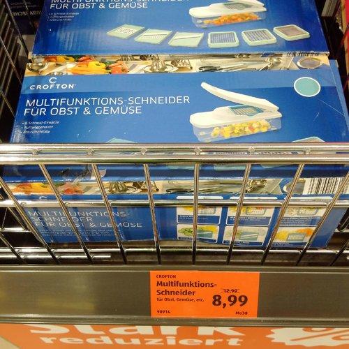 CROFTON Multifunktions-Schneider für Obst & Gemüse - jetzt 31% billiger