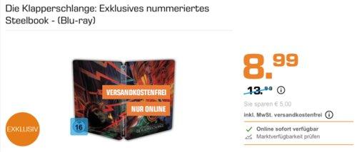 Die Klapperschlange: Exklusives nummeriertes Steelbook - (Blu-ray) - jetzt 36% billiger