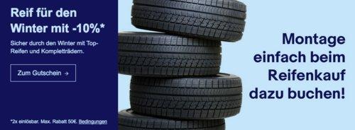 Ebay - 10% Rabatt auf ausgewählte Reifen und Kompletträder: z.B. Austone Winterreifen 225/55 R16 99V SP 901 XL - jetzt 10% billiger