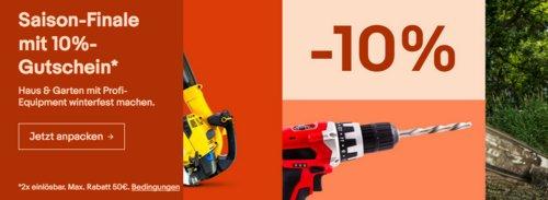 Ebay - 10% Rabatt auf Heimwerker, Garten & Terrasse, Business & Industrie: z.B. Goodyear 1503 S1 Sicherheitsschuhe - jetzt 10% billiger