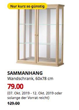 IKEA Hamburg-Altona - SAMMANHANG Wandschrank, 60x78 cm - jetzt 39% billiger