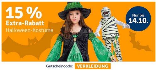 myToys - 15 % Rabatt auf Halloween-Kostüme: z.B. LEGO Vampir Deluxe Kostüm, 5-tlg. (104-134) - jetzt 14% billiger