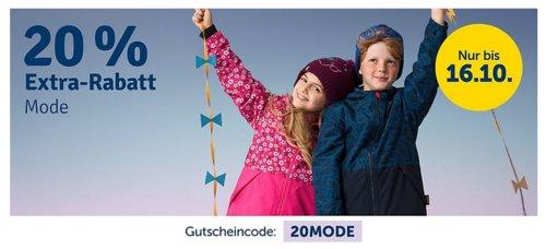 myToys 20 % Extra-Rabatt auf Mode: z.B. LEGO wear Daunenmantel für Mädchen, rosa (104-164) - jetzt 20% billiger