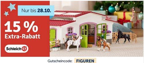 myToys.de - 15% Extra-Rabat auf Schleich: z.B. Bundle Schleich Farm World 42442 Spielteppich Bauernhof + GRATIS 87391 Welpe & Lamm - jetzt 14% billiger