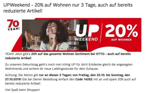 """Otto.de - 20% Rabatt auf Wohnen Sortiment: z.B. Küchenrollwagen """"Bambus"""", 37 x 37 x 76 cm - jetzt 18% billiger"""