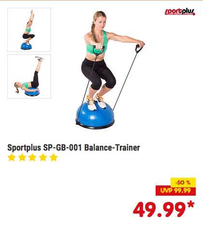 SPORTPLUS SP-GB-001 Balance Trainer, 62 x 25 cm - jetzt 15% billiger