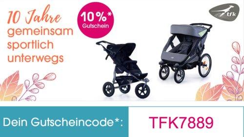 Babymarkt.de bis 20% Rabatt auf Produkte der Marke tfk (Kinderwagen und Zubehör): z.B.  tfk Cuddle - All terrain Softshell Fussack Inkl.Wintercover - jetzt 10% billiger