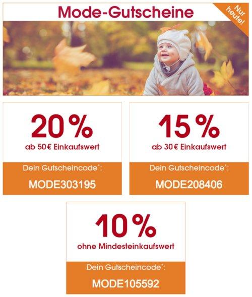 Babymarkt.de - bis 20% Rabatt auf Mode am 7.11.19: z.B. LEGO wear Boys Jacke JYLL navy (80-104) - jetzt 20% billiger