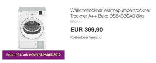 Beko DS8433GX0 8kg Wäschetrockner, A++ - jetzt 23% billiger
