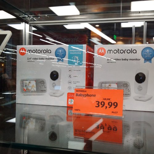 "Motorola Babyphone MBP481AXL (2,4 "" video baby monitor) - jetzt 20% billiger"