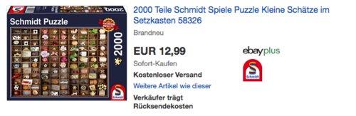 Schmidt Spiele 58326 Schätze im Setzkasten Puzzle, 2000 Teile - jetzt 13% billiger