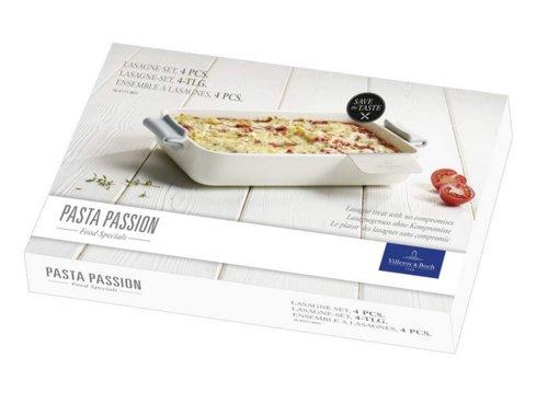 Villeroy & Boch Pasta Passion Lasagne-Set, 4-teilig - jetzt 15% billiger