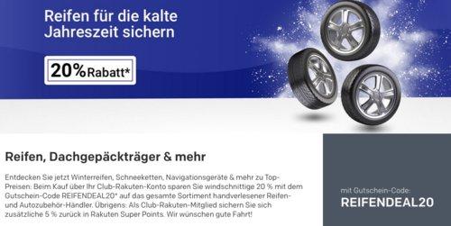 Rakuten.de - 20% Rabatt auf ausgewählte Winterreifen, Schneeketten, Navigationsgeräte & mehr: z.B. Garmin Camper 780LMT-D Navigationsgerät - jetzt 20% billiger