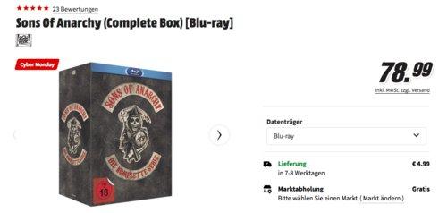 Sons of Anarchy - Die komplette Serie [Blu-ray] - jetzt 21% billiger